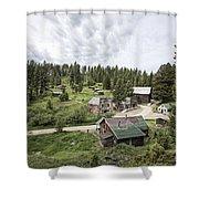 Garnet Ghost Town - Montana Shower Curtain