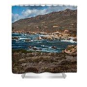 Garrapata Coast Shower Curtain