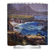 Garrapata Shower Curtain