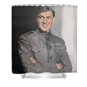 Gary Cooper Repro Shower Curtain