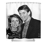 Gary Lineker Footballer Shower Curtain