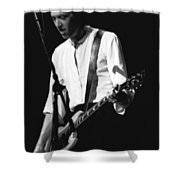 Gary Pihl On Guitar Shower Curtain