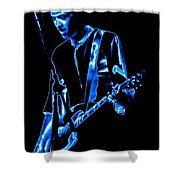 Gary Pihl Plays The Blues Shower Curtain