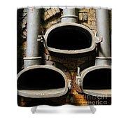 Gas Distilation Shower Curtain