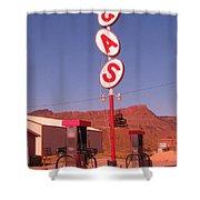 Gas Shower Curtain