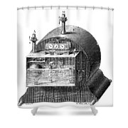 Gas Meter Shower Curtain