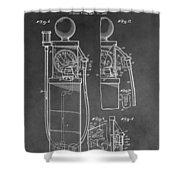 Gas Pump Patent Shower Curtain