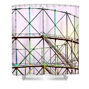 Gas Tank  Shower Curtain