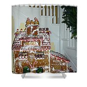 Gasparilla Gingerbread Shower Curtain