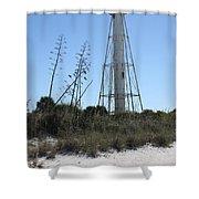 Gasparilla Island Light II Shower Curtain