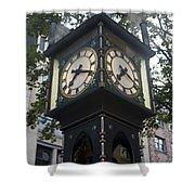 Gastown Steam Clock Shower Curtain