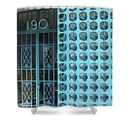 Gate 190 Palm Springs Shower Curtain