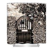 Gate 69 Charleston Sc Shower Curtain