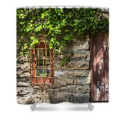 Gate And Window Shower Curtain