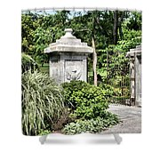 Gate Entrance Shower Curtain