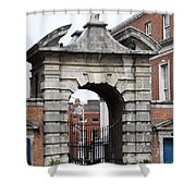 Gate Of Justice - Dublin Castle Shower Curtain