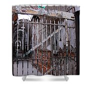 Gate To The Infirmary Shower Curtain