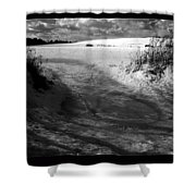 Gate To Winter Shower Curtain