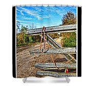 Gated Community Country Style Shower Curtain