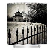 Gates Of Grace  Shower Curtain