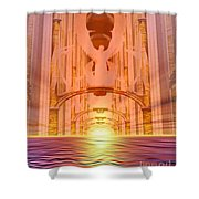 Vision Of Heaven Shower Curtain