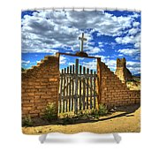 Gates To Eternity Shower Curtain