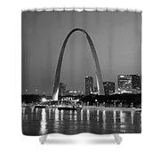 Gateway Arch In St Louis Shower Curtain