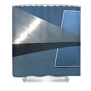 Gateway Arch St Louis 05 Shower Curtain