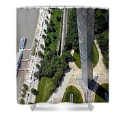 Gateway Arch St Louis 11 Shower Curtain