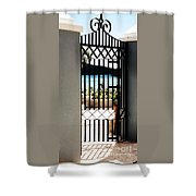 Gateway In St. Thomas Shower Curtain