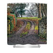 Gateway To Autumn Shower Curtain