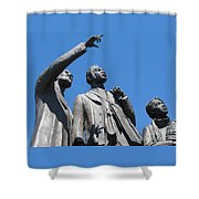 Gateway To Freedom - 1 Shower Curtain by Ann Horn