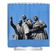 Gateway To Freedom - 2 Shower Curtain by Ann Horn