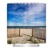 Gateway To Serenity Myrtle Beach Sc Shower Curtain by Stephanie McDowell