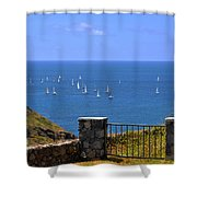 Gateway To The Atlantic Shower Curtain