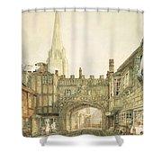 Gateway To The Close, Salisbury Shower Curtain
