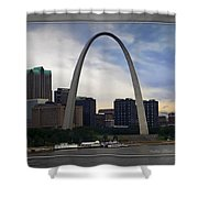Gateway To The West Shower Curtain