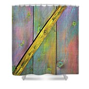 Gateway To Z Universe Shower Curtain