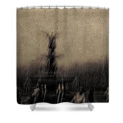 Angel Of The Waters Shower Curtain