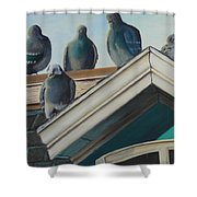 Gathering Of The Clan Shower Curtain