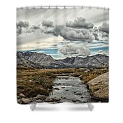 Gathering Storm Shower Curtain