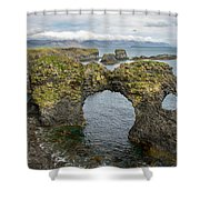 Gatklettur Arch In Hellnar Shower Curtain