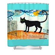 Gato Mexico Shower Curtain