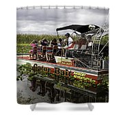 Gator Bait Shower Curtain