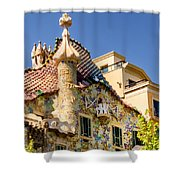 Gaudi Apartment Shower Curtain