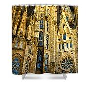 Gaudi - Sagrada Familia Shower Curtain