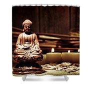 Gautama Buddha Shower Curtain