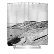 Gay Head Cliffs, C1903 Shower Curtain