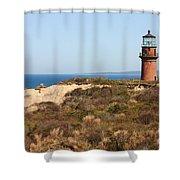 Gay Head Lighthouse Shower Curtain