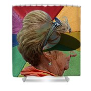Gay Old Times  Shower Curtain
